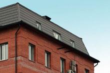 устройство мансардной двускатной крыши - Всемирная схемотехника.